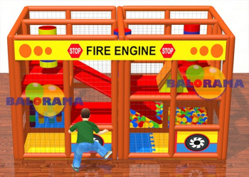 Fire Engine Soft Play Top Havuzu