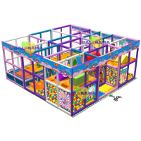 6x6x2.5 m Softplay Oyun Parkuru
